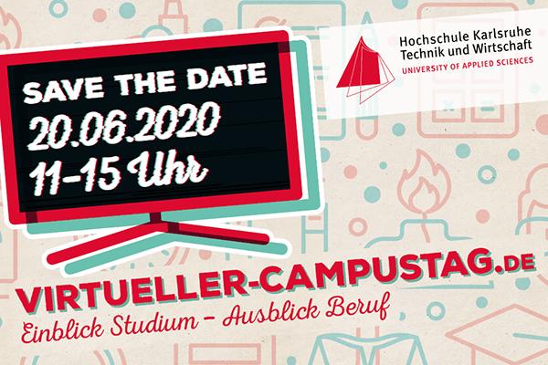 Virtueller Campustag an der Hochschule Karlsruhe
